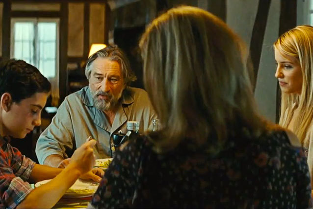 Robert DeNiro The Family 2013 Movie Still