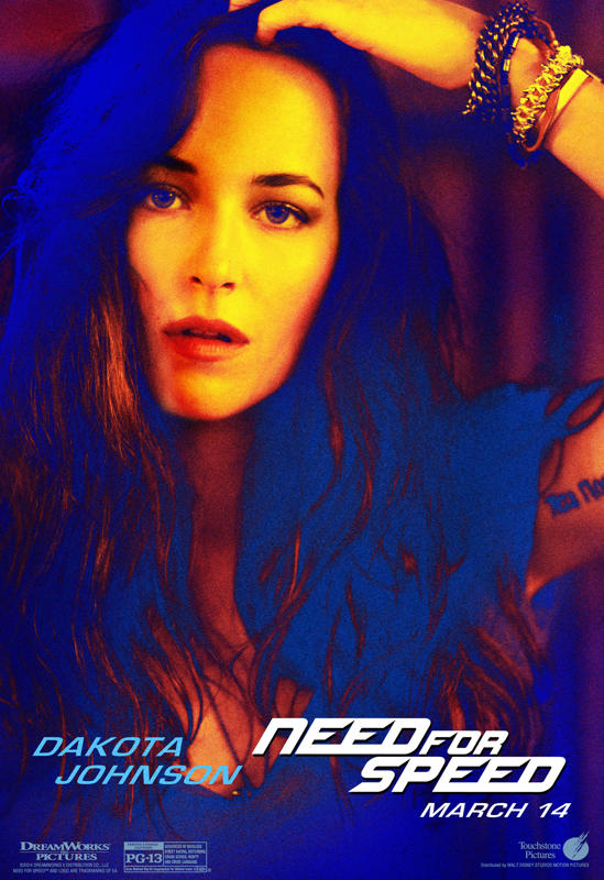 Movie Smack Talk 'Need for Speed' Character Posters Released