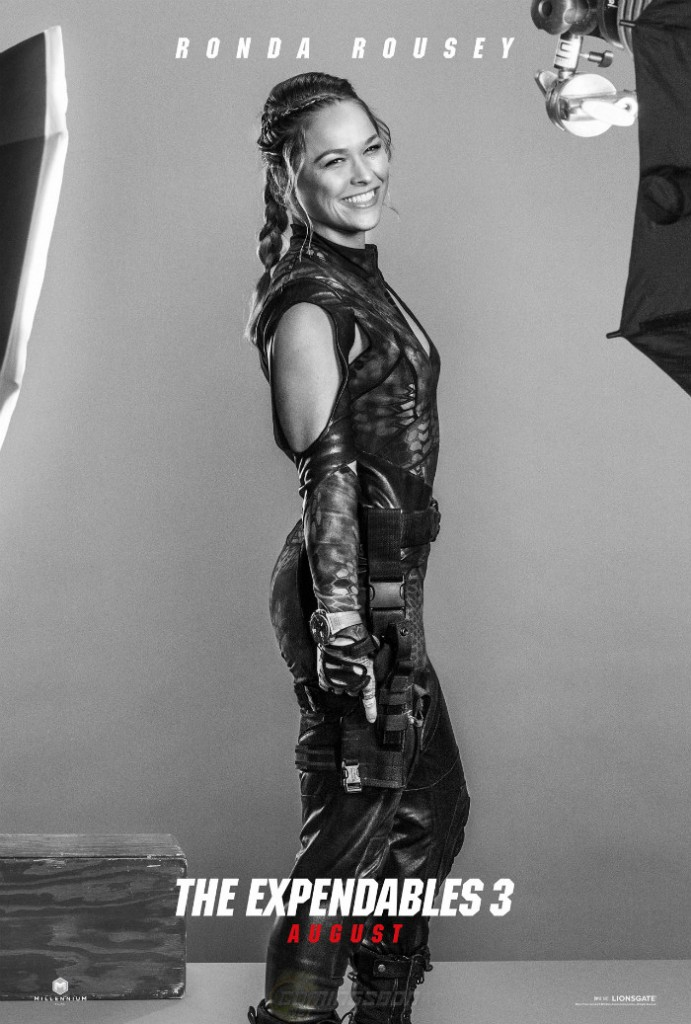 Expendables3 Ronda Roussey