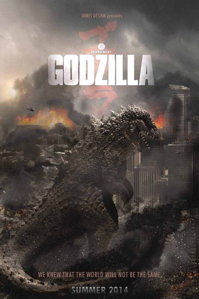 Godzilla 2014 Movie Wallpaper The beginning and the end are
