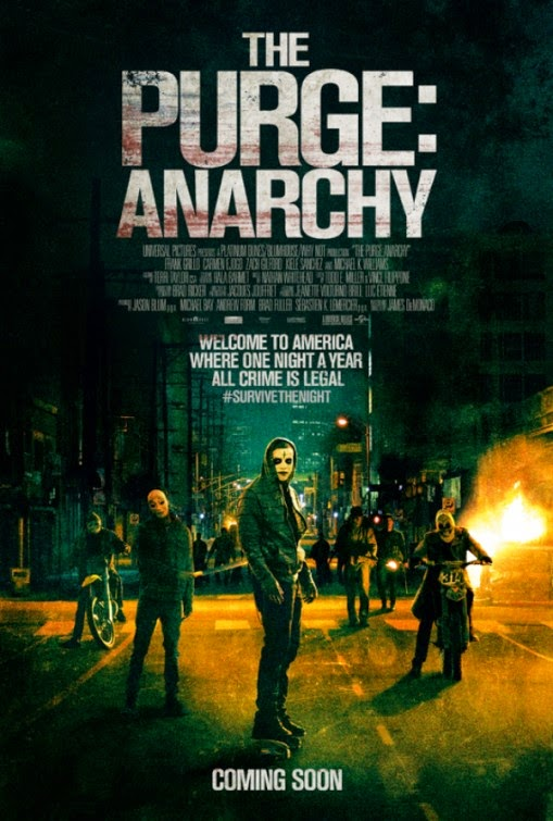 The Purge Anarchy New Poster