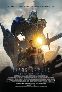 Transformers Age of Extinction - Movie Poster