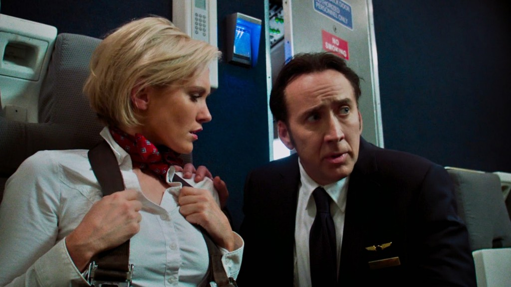 Nicky Whelan And Nicolas Cage In Left Behind Stills