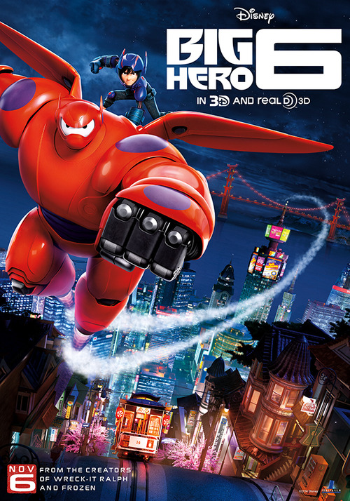 Movie Review: Big Hero 6 (2014) – A well written, well animated, Future Classic
