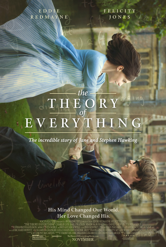 Movie Review: Theory of Everything (2014) – Intelligent, Well done but Not Deep Enough for an Oscar