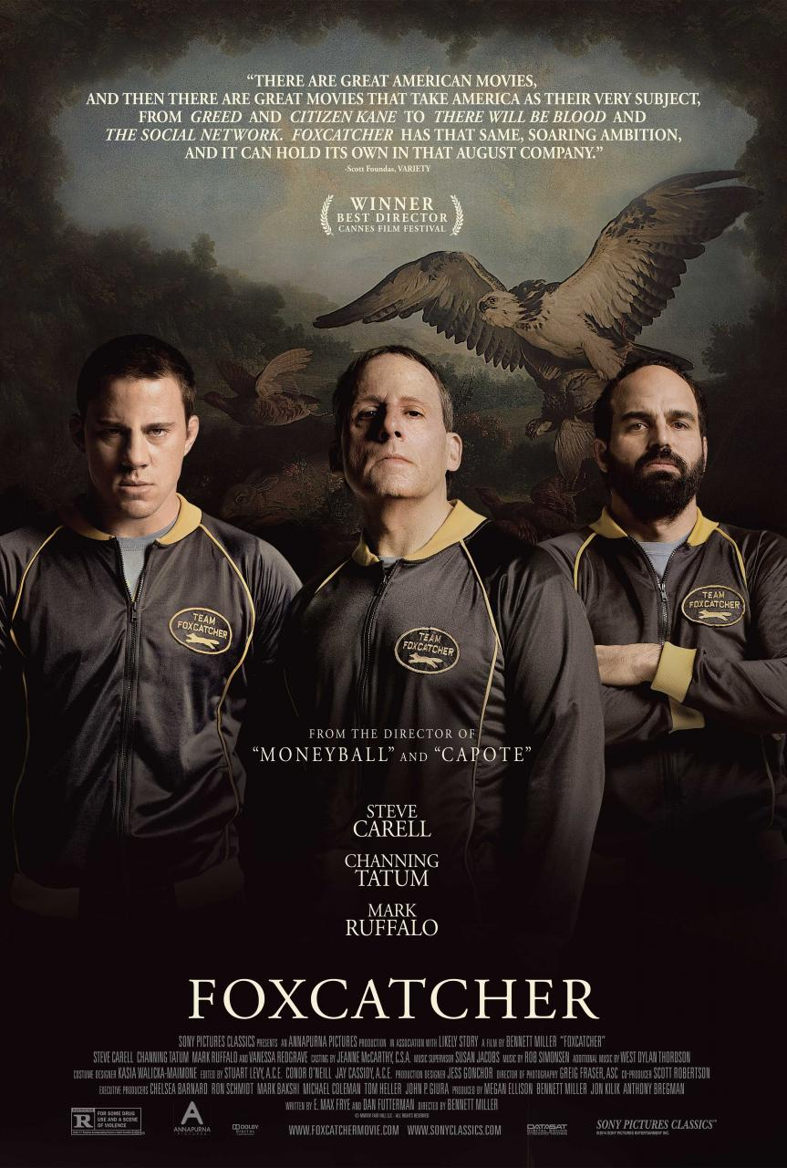 Movie Review: Foxcatcher (2014) – An excellent psychological exploration of Du Pont.