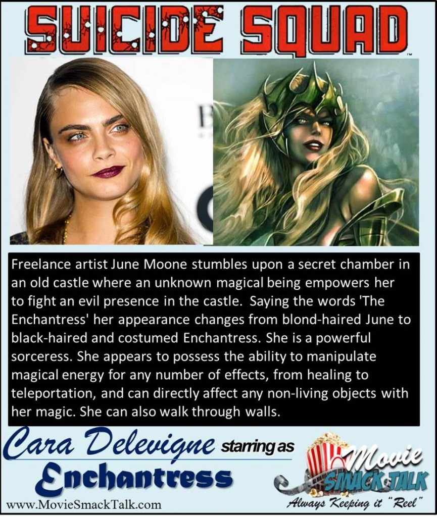 Cara Delevigne as Engchantress