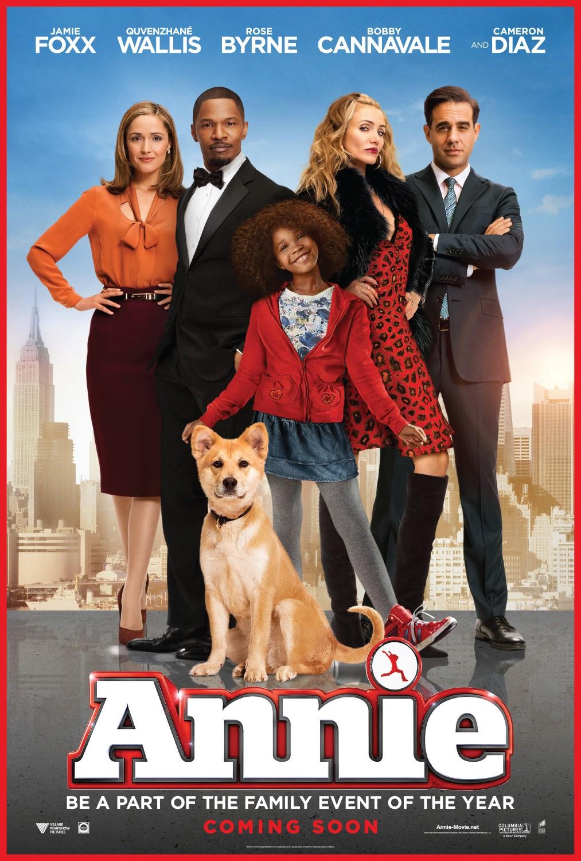 movie smack talk movie review annie 2014 an auto