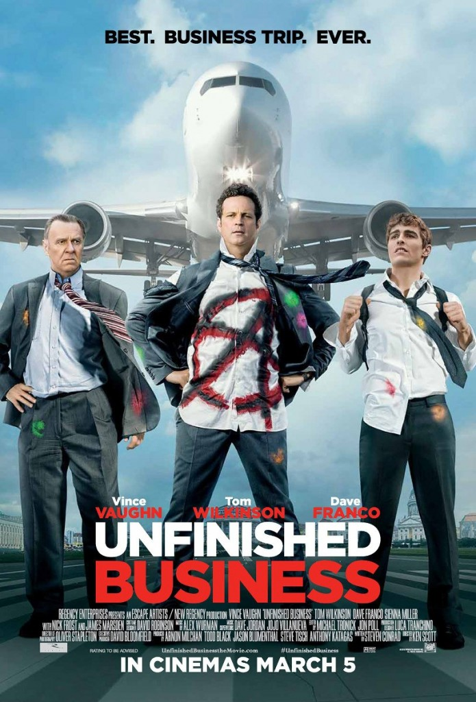 17MAR2015 - Unfinished Business Movie Poster
