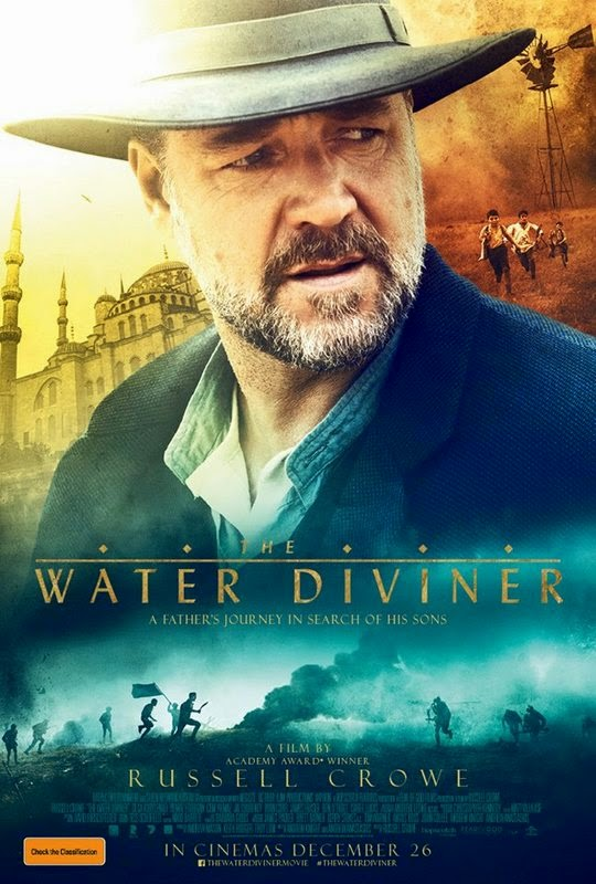 The Water Diviner Film Poster - 06MAY2015