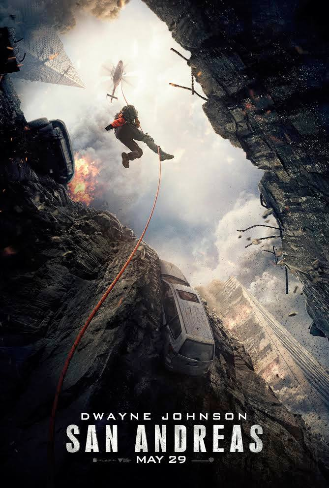 San Andreas movie poster - 08JUN2015