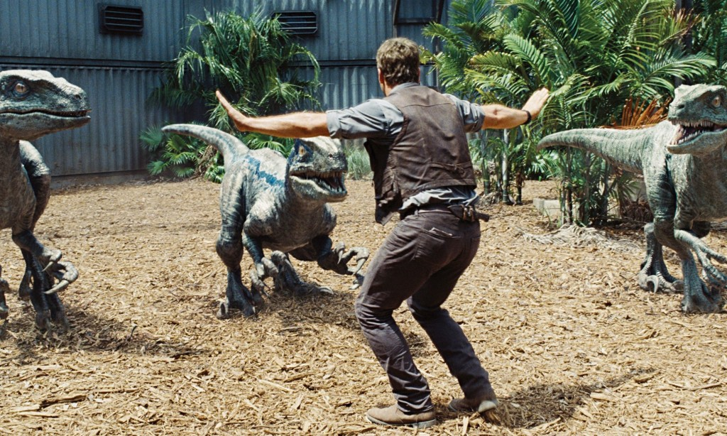 Scene from Jurassic World