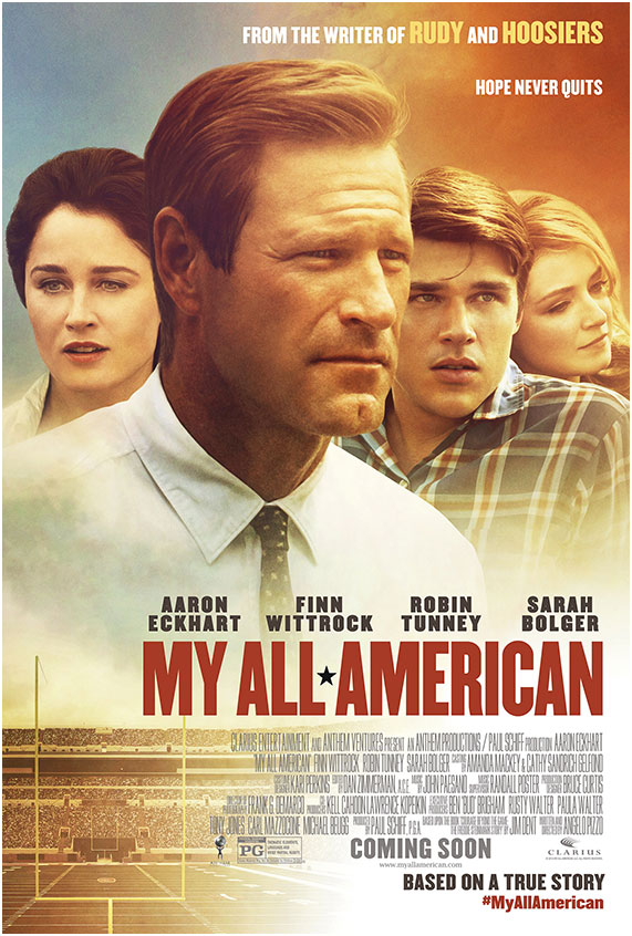My All American Official Moive Poster