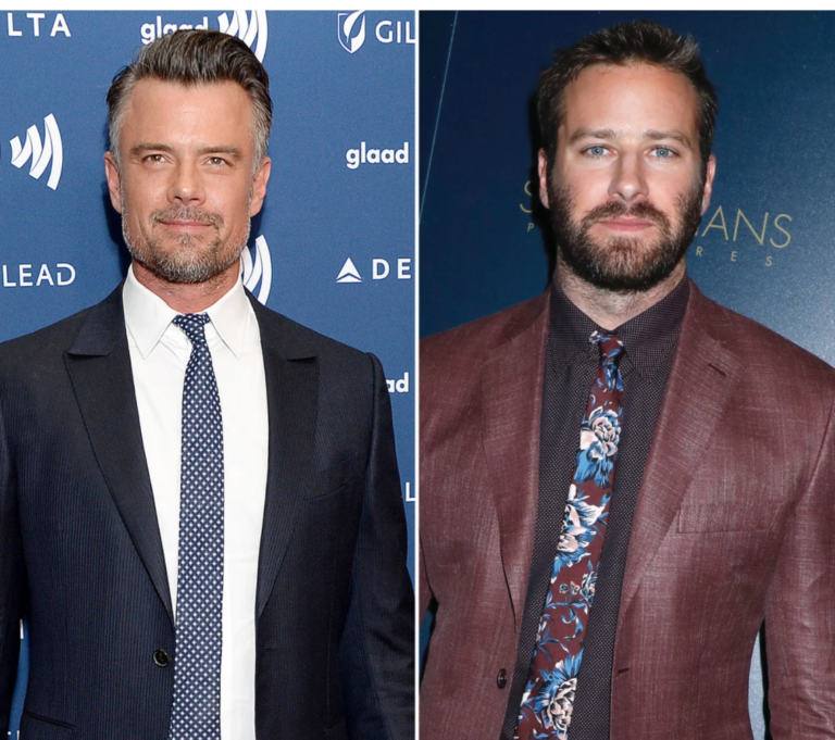 Josh Duhamel Emailed Armie Hammer To Wish Him Well Before Replacing Him In 'Shotgun Wedding'